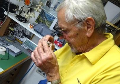 Heinz Rollier and an AR movement.