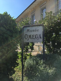 The Omega Museum is right across the factory