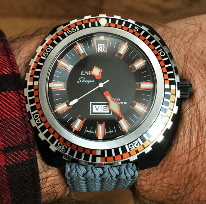 The shiny Sherpa Star Diver