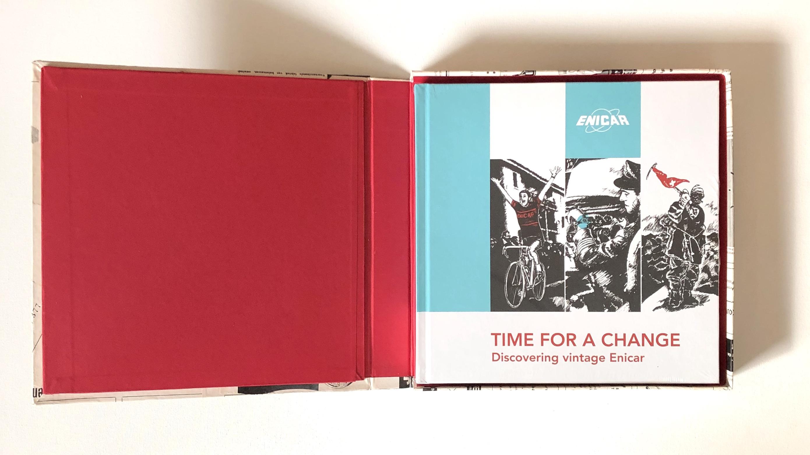 Enicar book giftbox December present