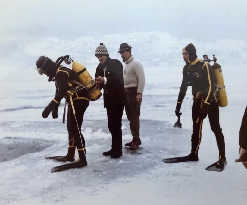 Investigating Swiss police Super-Dives