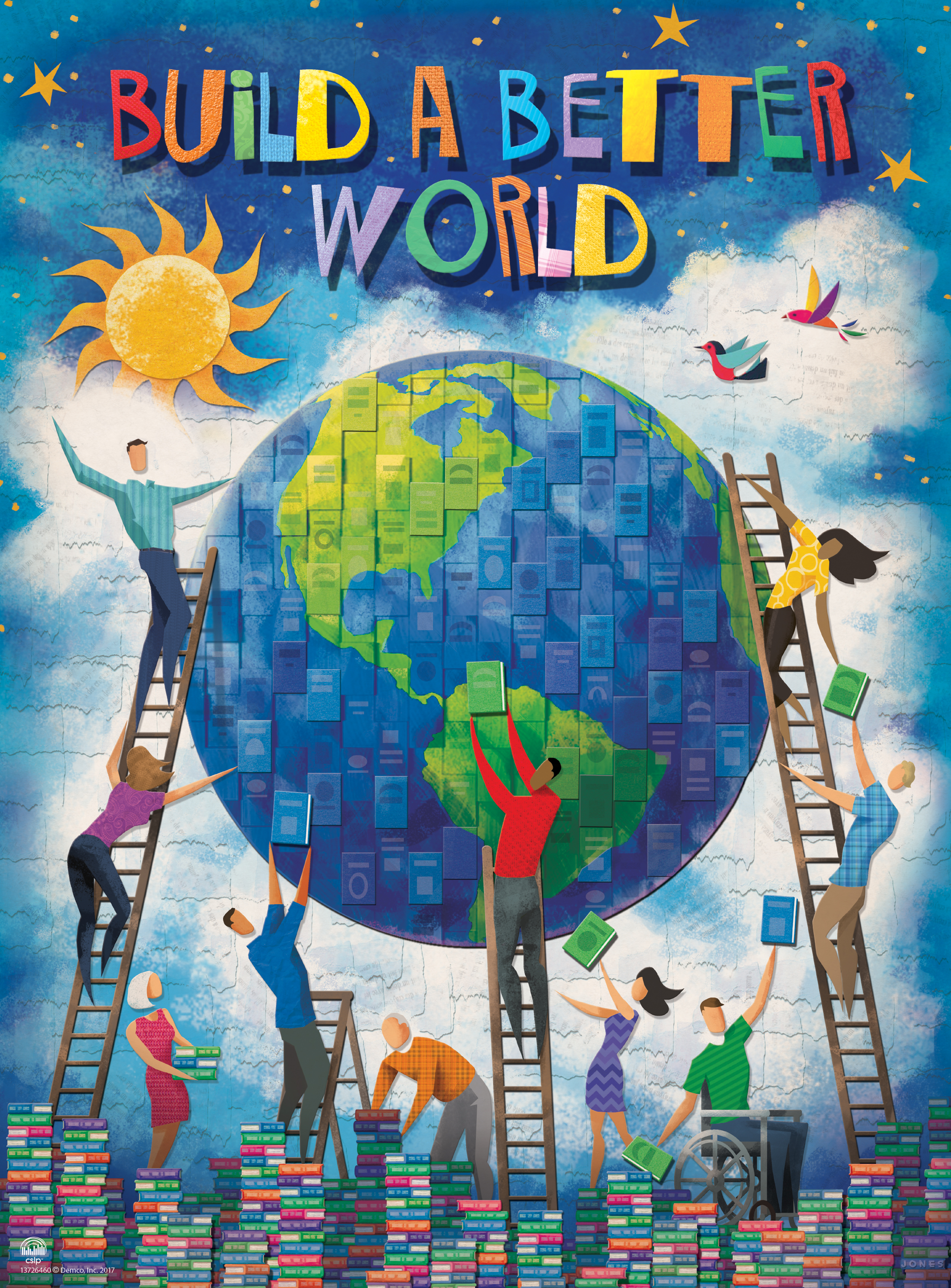 Adults Build A Better World This Summer The Library