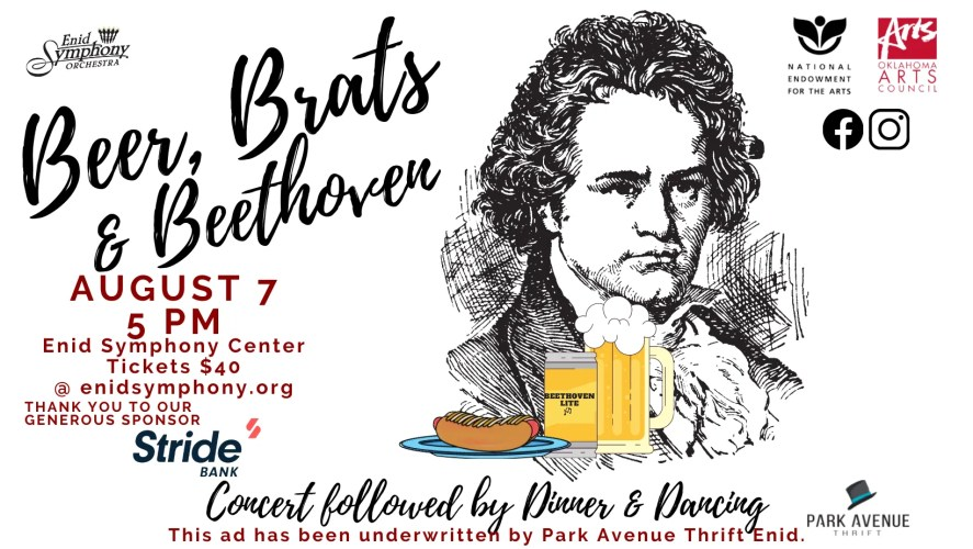 Beer Brats and Beethoven Website Cover