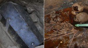 Vědci pátrají po původu a využití slizu v egyptských sarkofázích