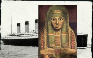 Egyptský pohřební artefakt měl potopit Titanic