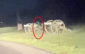 Dva duchové natočeni na místě bitvy u Gettysburgu