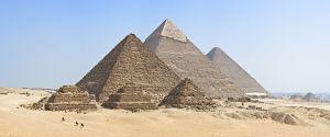 Egyptské pyramidy v Gíze: Div světa zůstává neprostupným mystériem