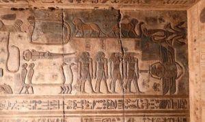 Kde hledat nová souhvězdí? Na zdech starověkých egyptských chrámů!