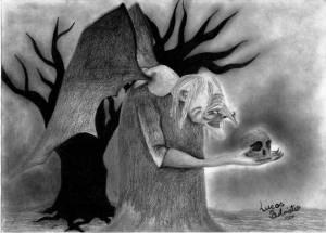 Gwrach y Rhibyn: Odpudivá noční můra z Velšských legend