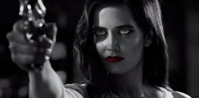 Eva Green is the titular seductress in Sin City: A Dame to Kill For