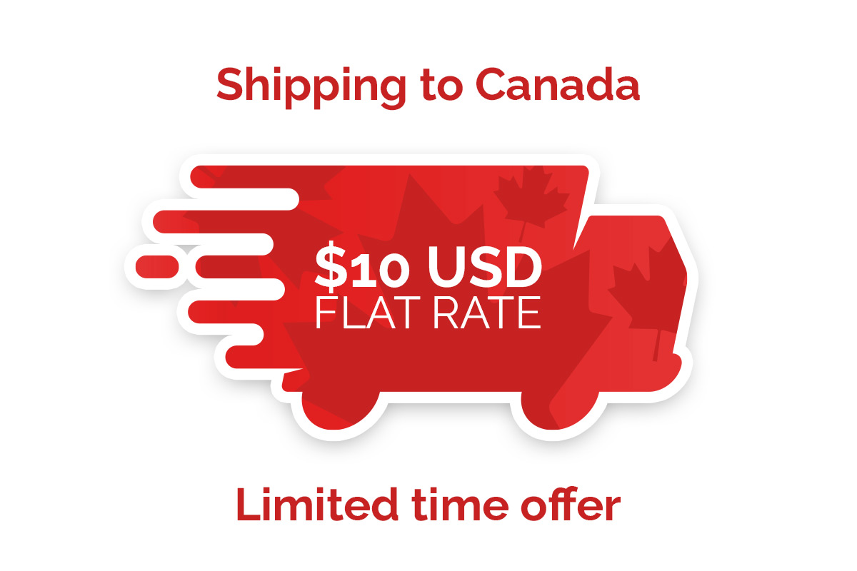 shipping to canada flat fee