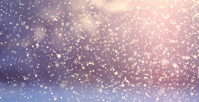 neige flocons