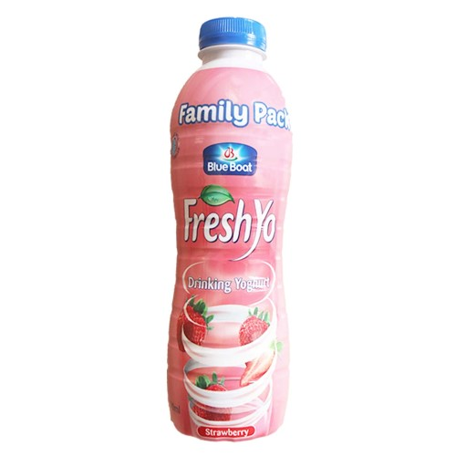 FreshYo Yoghurt Strawberry PET 750ml