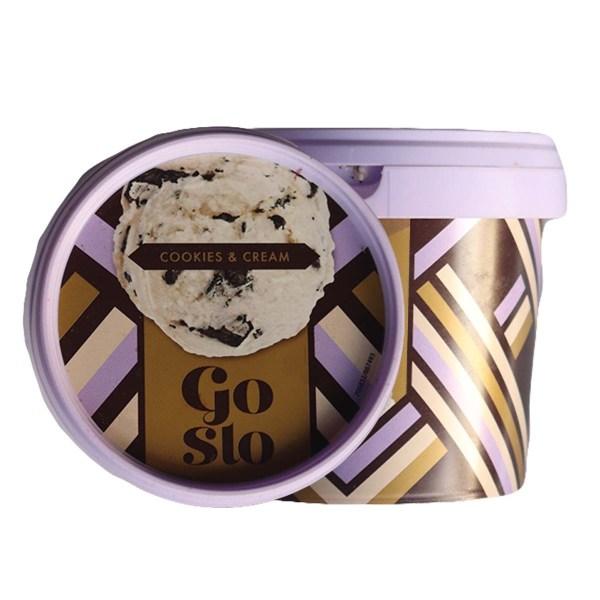 Go Slo Cookies Cream Ice Cream 320ml