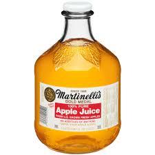 MARTINELLIS GOLD MEDAL SPARKLING APPLE JUICE 1.5L