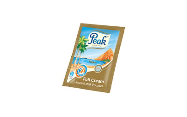 Peak Milk Full Cream Powder. 25g