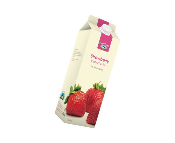 farmfresh yoghurt strawberry 500ml plastic 1