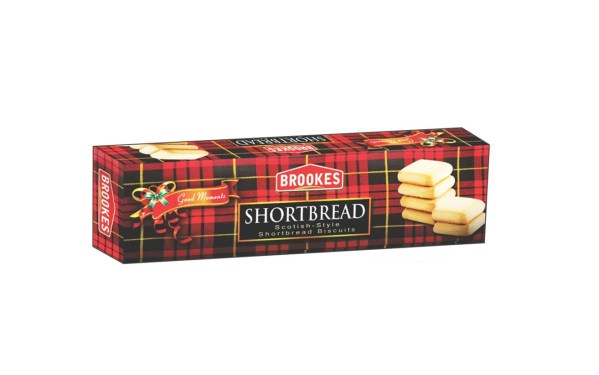 Brookes ShortBread Biscuits. 120g
