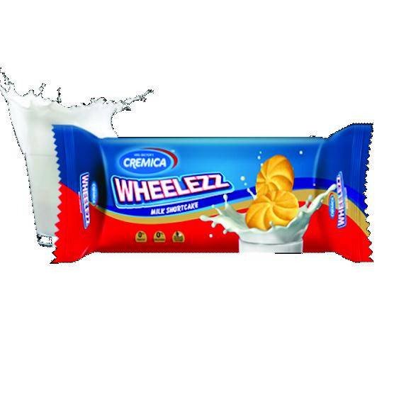 Cremica Wheelez Milk ShortCake 80g