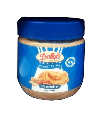 DOLLYS Peanut Butter Cruchy.340g