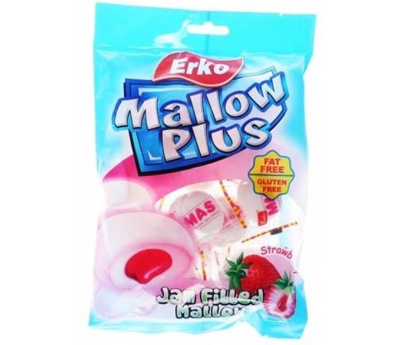 Erko Mallow Plus Strewberry Jam Filled mallow