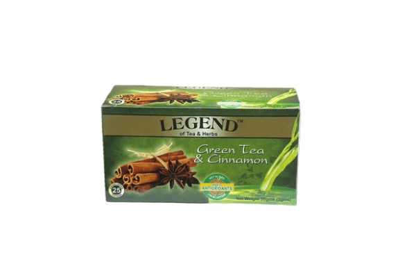Legend Tea & Herbs Green Tea & Cinnamon 50g