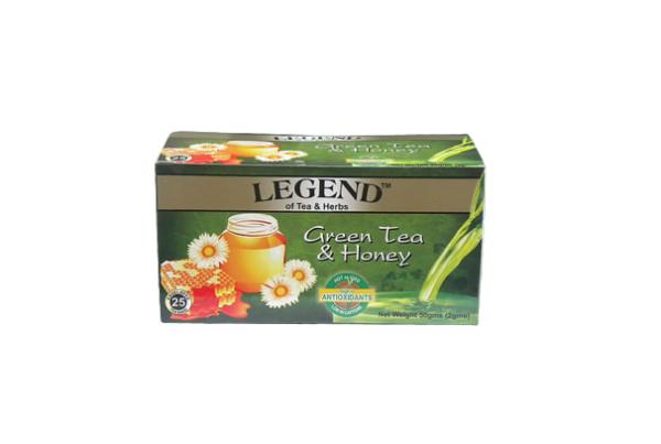 Legend Tea & Herbs Green Tea & Honey 50g