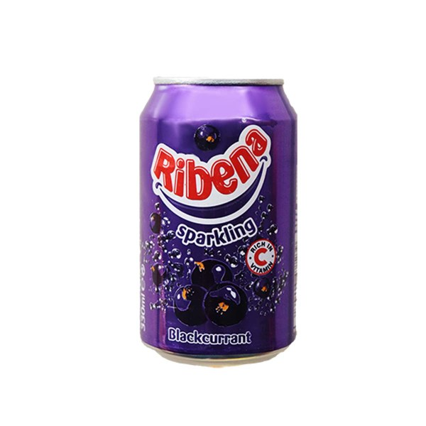 Ribena Sparkling Blackcurrant Can 33cl