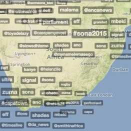Trendsmap South Africa - 13 February 2015