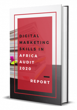 eNitiate | Digital Marketing Skills in Africa Audit 2020 Report | eBook Cover | 22 March