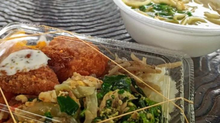 地元民イチオシ‼【沖縄ローカル弁当】あけぼの弁当がすごい
