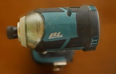 マキタ-TD137D-上から見た