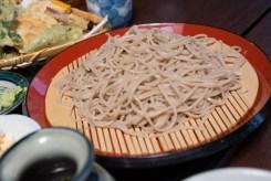 盛りが少ないかな?と思ったけど天ぷらで満腹