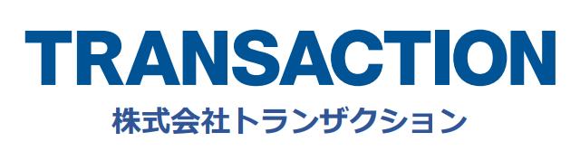 トランザクション-会社ロゴ