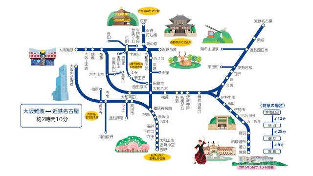 近畿日本鉄道 鉄軌道路線