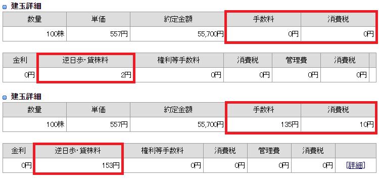品渡後の建玉詳細