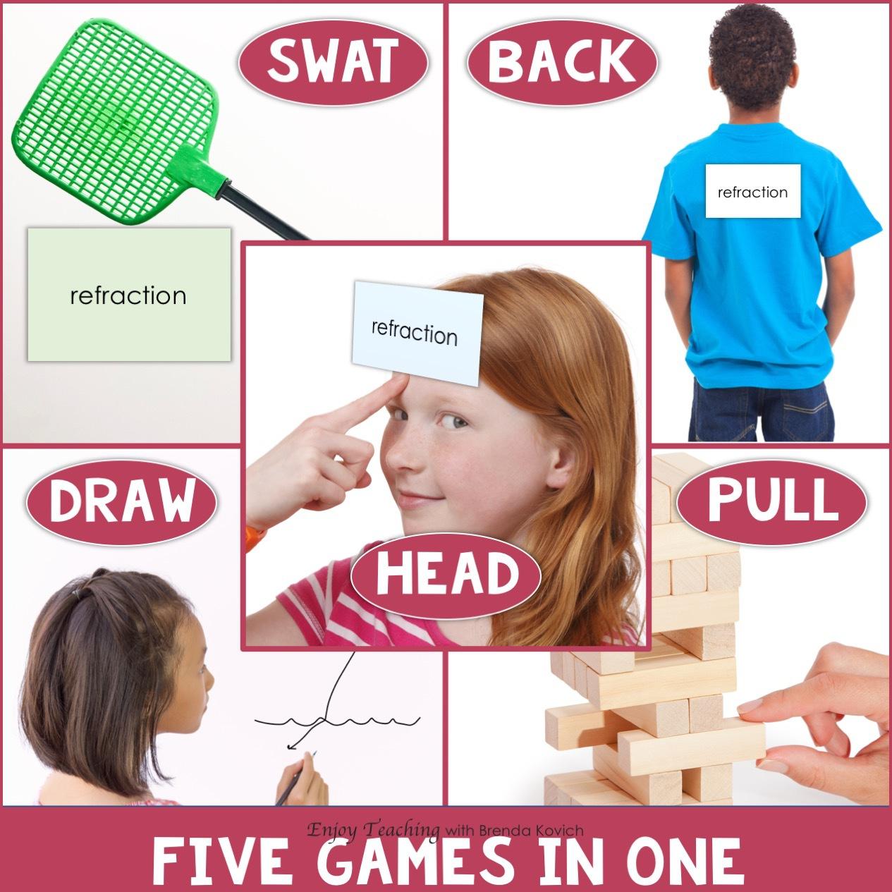 Five Fun Classroom Games Intermediate Grades