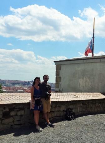 Wir beide in Prag