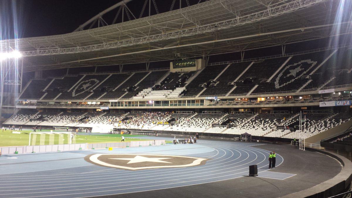 Olympiastadion Rio de Janeiro - irgendwie seltsam
