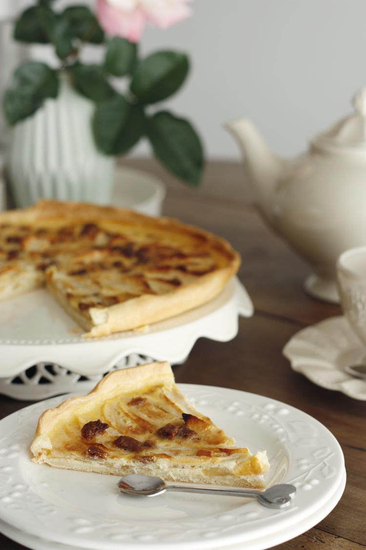 Pommes, chocolat et spéculos, une délicieuse association pour une tarte gourmande