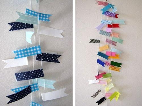 My Wonderwall by Marie - Décorer vos tables de fêtes avec du masking tape
