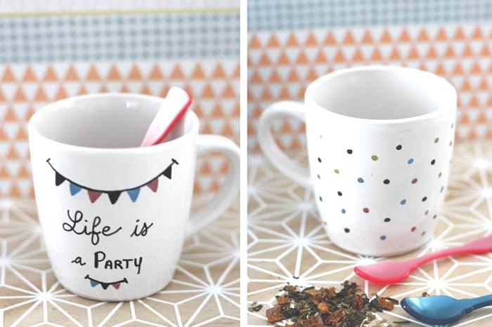 My Wonderwall by Marie - DYI - décorez vos mugs