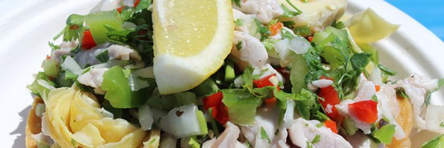 Ceviche recipe from Pete's Pierside Cafe