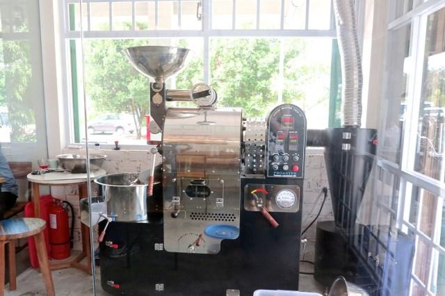 Mesin sangrai kopi - Anchor Cafe and Roastery