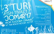 3rd Turi Fish-Tival, Fish,Catch, and Win