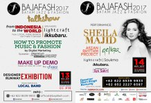 Batam Jazz and Fashion, Bajafash 2017 13 & 14 Mei 2017