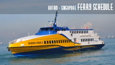 Batam Singapore Ferry Schedule