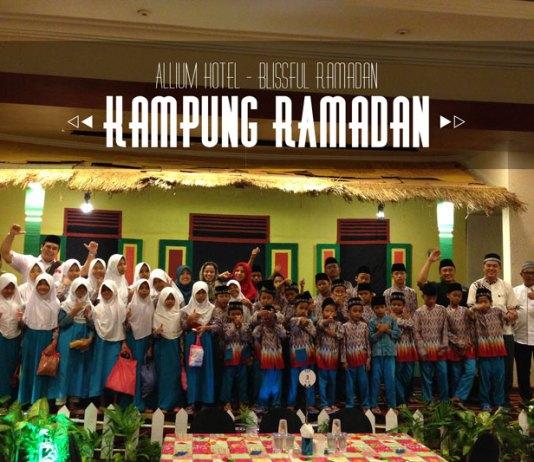 Berbagi dengan Anak Yatim di Hari Pertama Ramadan Kampung Betawi Allium Hotel
