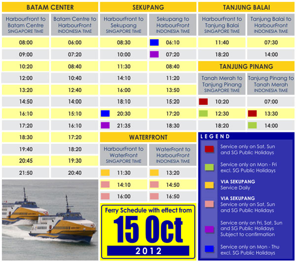 Penguin Island Ferry Timetable
