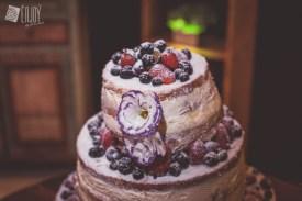 naked cake bolo flores frutas